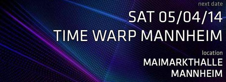 Time warp mannheim 2014 dates